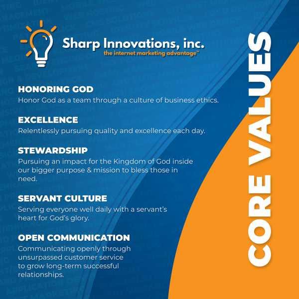 Core Values | Sharp Innovations