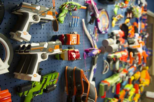 The NERF Wall