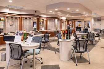 an optometrists lobby
