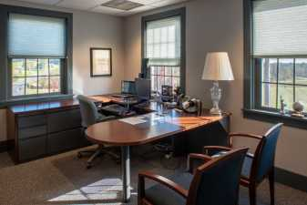 a private home office