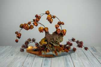 a small fall style decoration