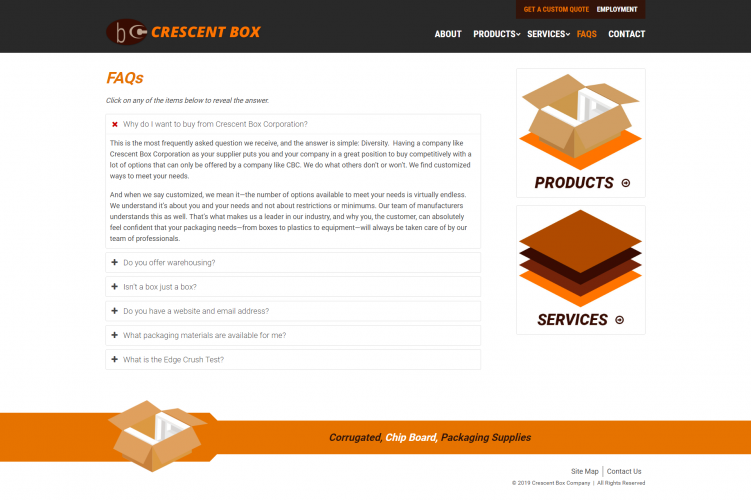 Crescentbox faq