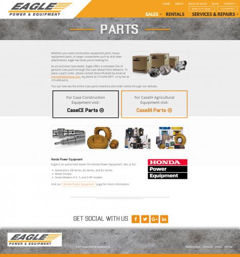 Eaglepowerandequipment sales parts