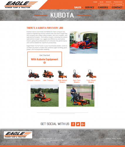 Eagleptt sales equipment kubota php