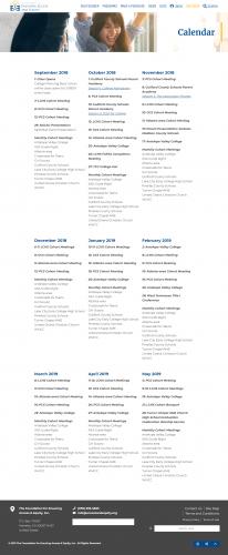 Accessandequity org calendar