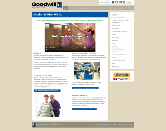 Yourgoodwill org learn mission what we do