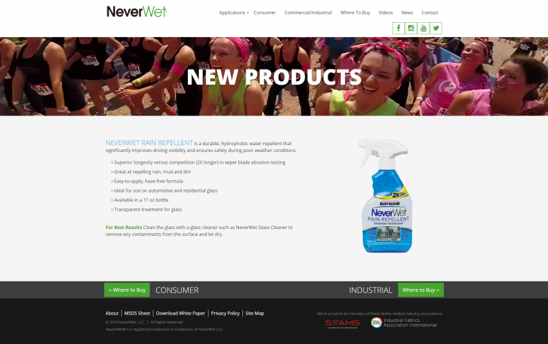Neverwet new index php