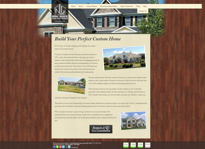 Normanlgraham custom homes php