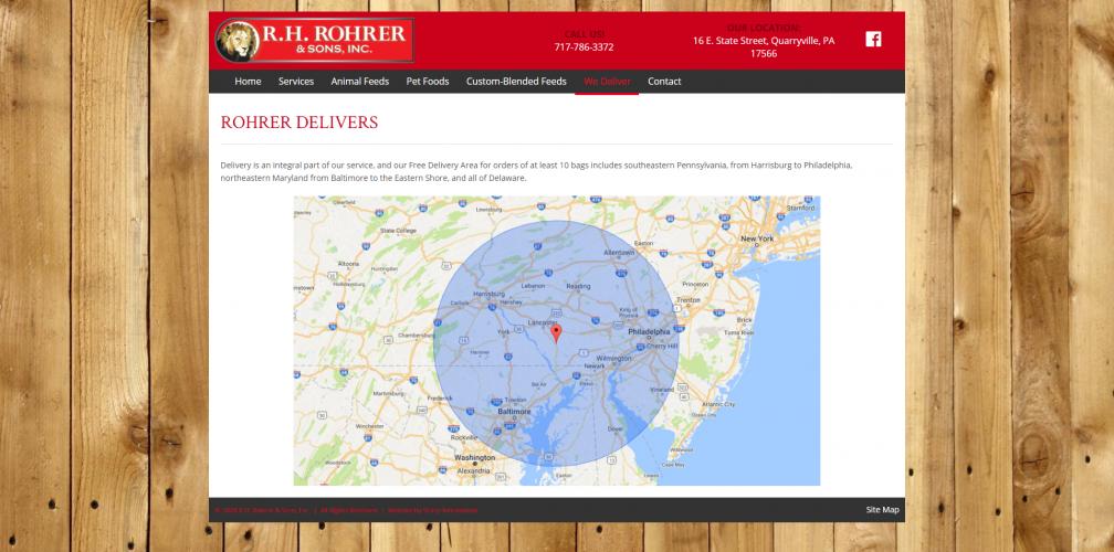 Rohrerfeeds we deliver