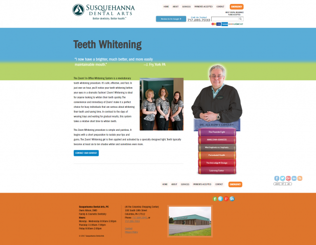 Susquehannadentalarts teeth whitening