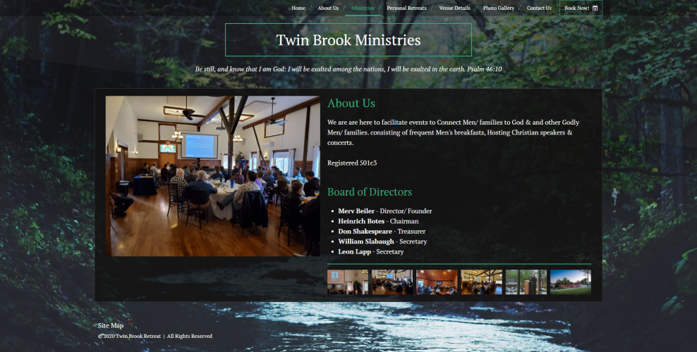 Twinbrookretreat ministries