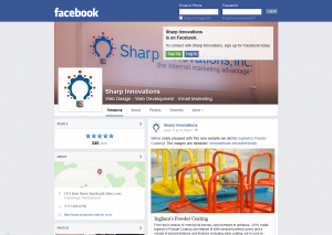 Sharp Facebook page