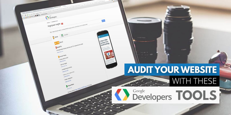 Audit Your Website with These Free Google Tools | Header