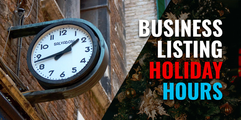 How To Update Your Business Listing Holiday Hours | Header