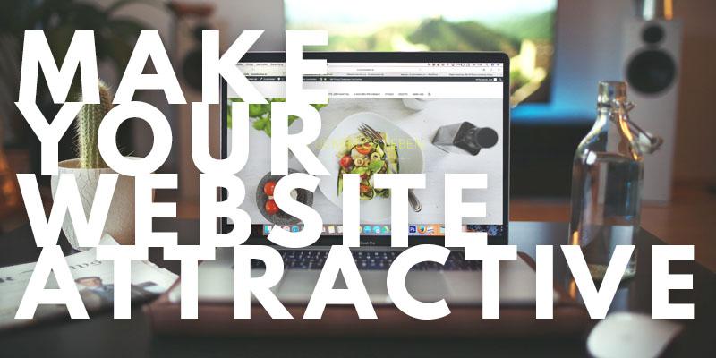 Make Your Website Attractive | Header
