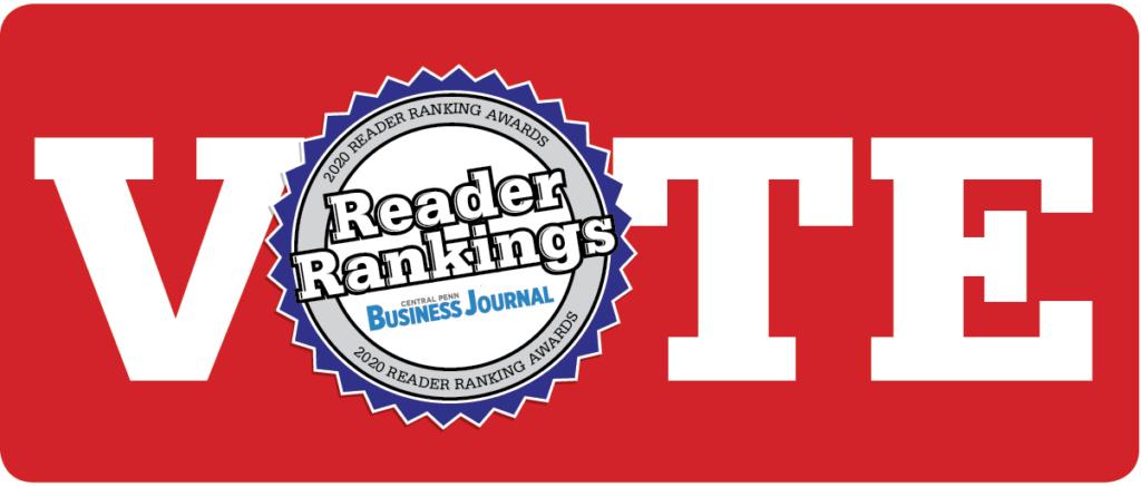 2020 Central Penn Business Journal Reader Rankings vote banner
