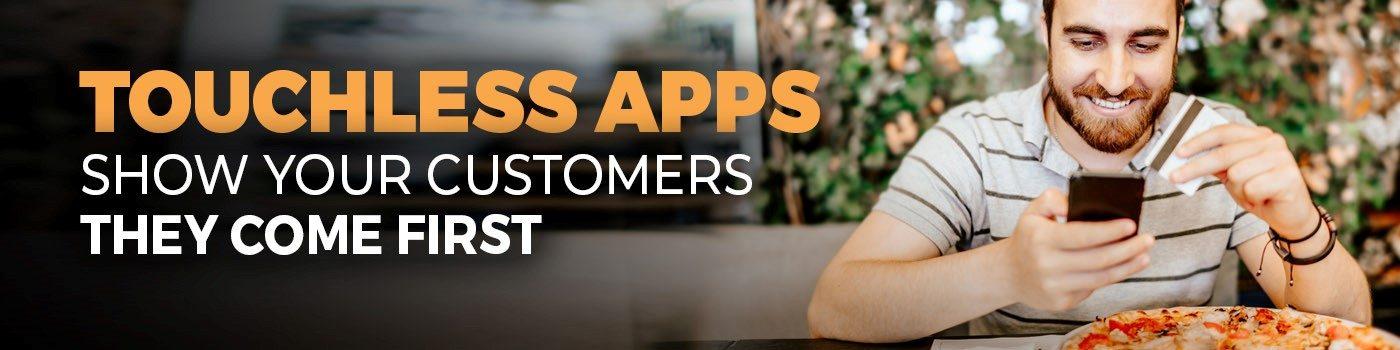 touchless menus app