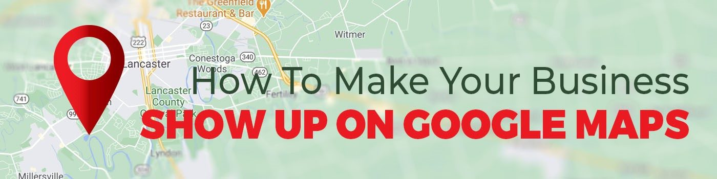 Lancaster County businesses on Google Maps