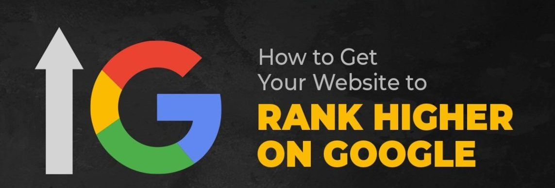 website rank higher on google