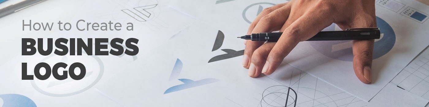 how to create a business logo title