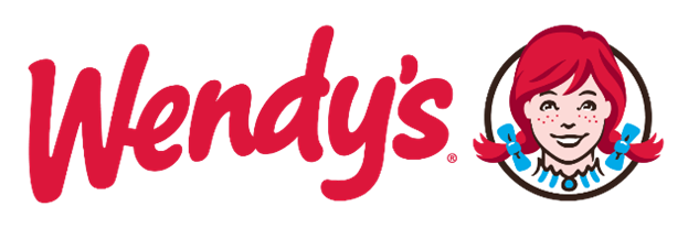 A picture containing wendy's logo