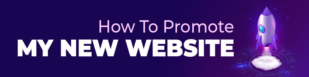 how to promote my new website title